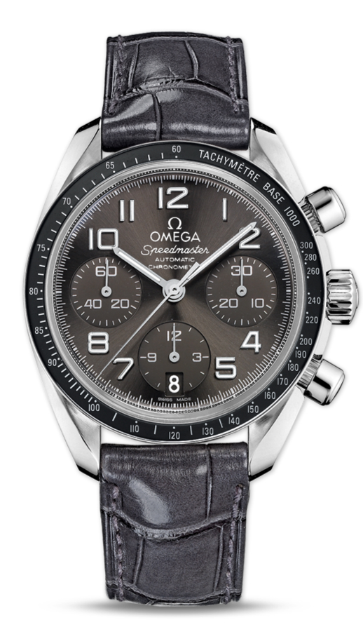 UK Omega Speedmaster Chronograph Grey Dial Replica Watches