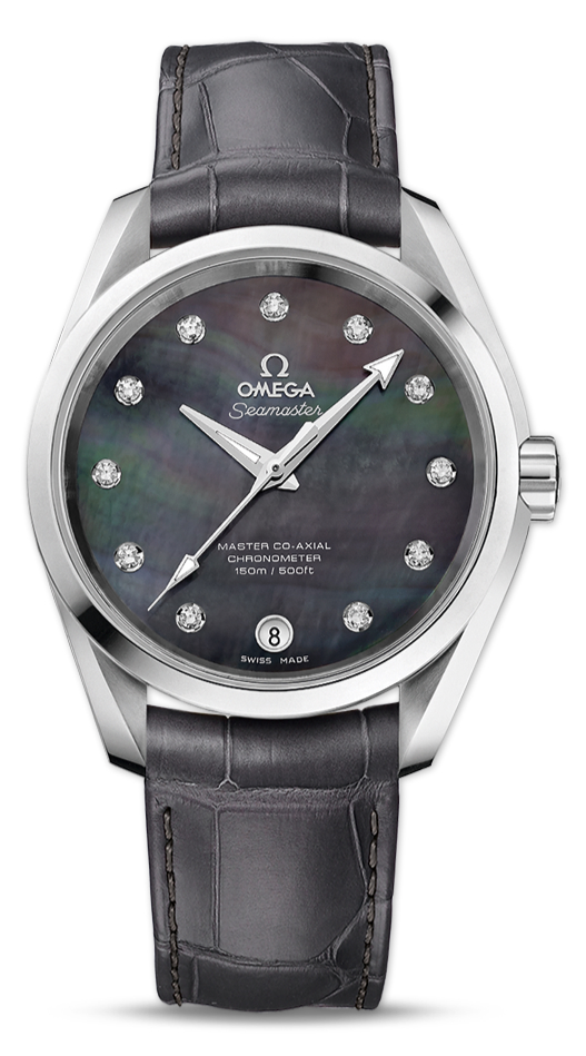 UK Omega Seamaster Aqua Terra Grey Dial Copy Watches