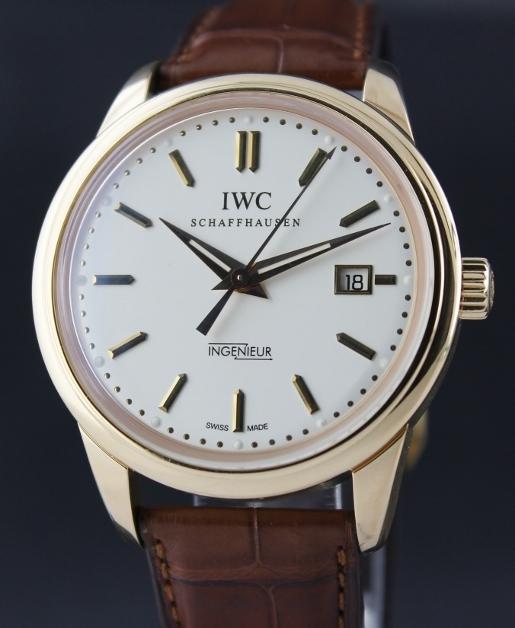 IWC Ingenieur of silver dial replica