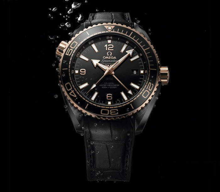Omega Seamaster Replica Watches With Sedna Gold Hands