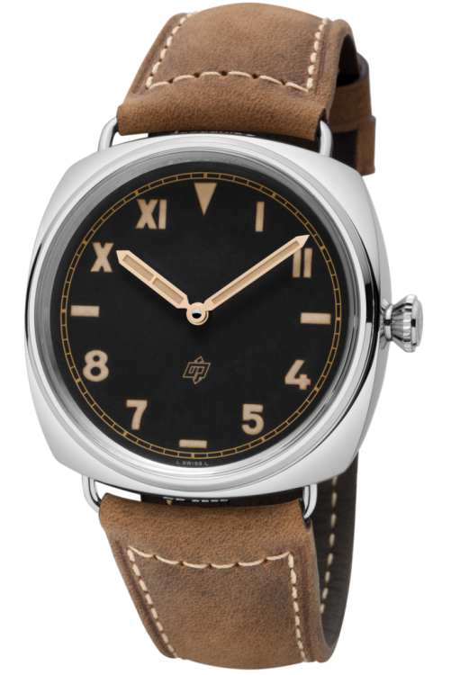 Fake Panerai Radiomir Watches With Silver-tone Bezels