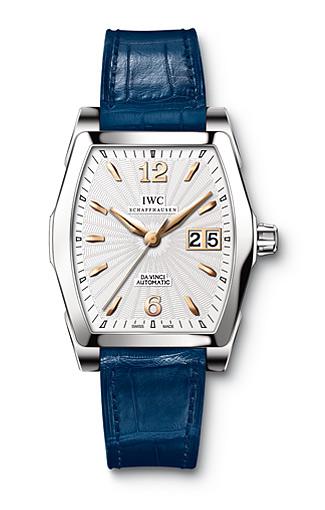 Replica IWC Da Vinci Automatic Watches With Silver-tone Bezels