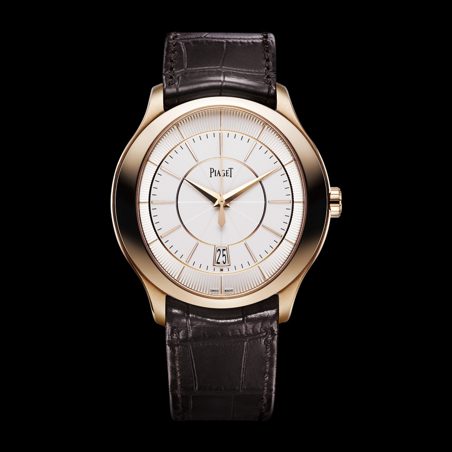 Rose Gold Bezels Piaget Gouverneur Replica Watches