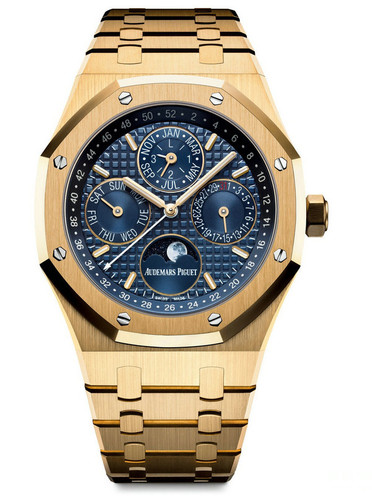 Audemars Piguet Royal-Oak Replica Watches With Golden Bracelets