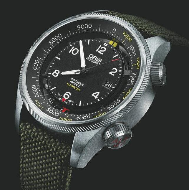 The timepiece is especially created for the professional pilots, adventurers and so on.